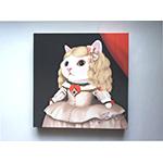 猫のキャンバスアートS マルガリータ王女
