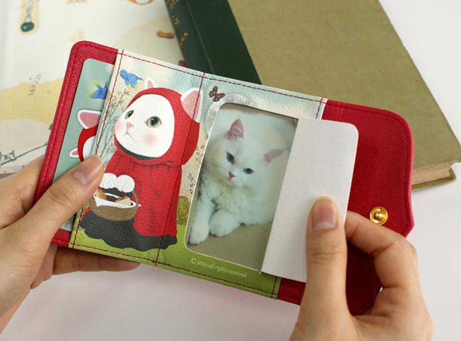 愛猫ちゃんの写真を入れても<br>かわいいですよね◎