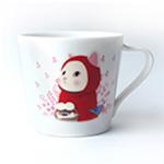 猫のミニマグカップ 赤ずきん