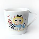 猫のミニマグカップ アリス