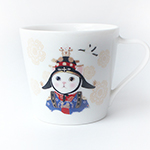 猫のミニマグカップ クイーン