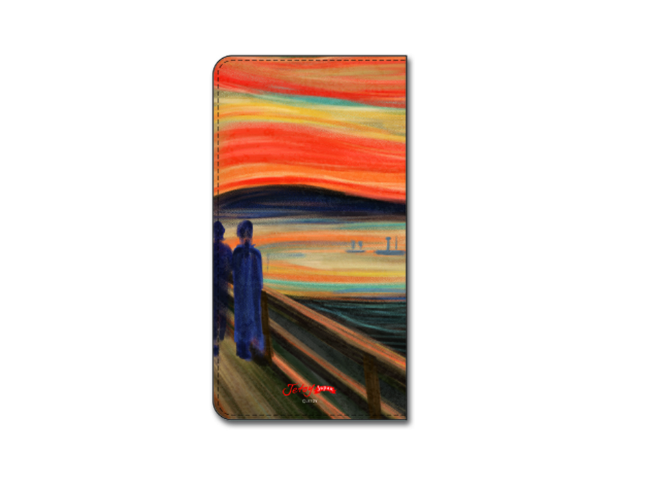 裏面にまで広がる、絵画の世界観!<br>細部までよく再現されています♪<br>※商品の写真および画像はイメージです。<br>※実際の商品とは異なる場合があります。