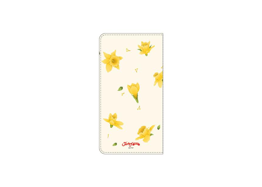 裏面にも美しい黄色のお花が♪<br>大人かわいいスマホケースを<br>お探しの方にぴったりな<br>デザインです◎<br>※商品の写真および画像はイメージです。<br>※実際の商品とは異なる場合があります。
