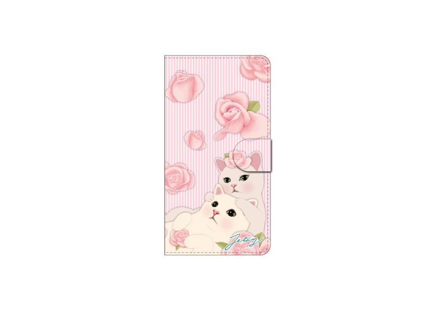 "<div class=""red"">【猫のスマホケース 手帳型 カスタム<br> 受注会】開催中!</div><br>ピンクのバラを背景に<br>ロマンティックな時間を過ごす<br>白猫カップルがとってもすてきな<br>おしゃれスマホケース♪<br>※商品の写真および画像はイメージです。<br>実際の商品とは異なる場合があります。"