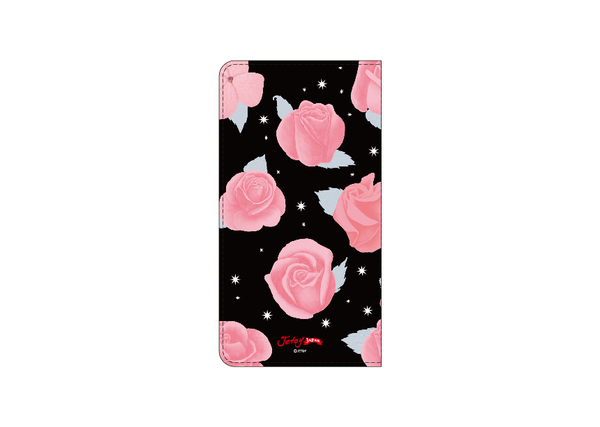 裏面にもバラの花が(^^)<br>シックで落ち着いたデザインは<br>年齢を問わず持ち歩けそうです♪<br>Jetoy Japanオリジナルの証である<br>ロゴも入っています♪<br><br>※商品の写真および画像はイメージです。<br> 実際の商品とは異なる場合があります。