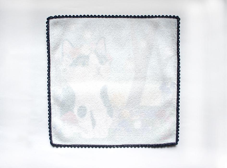 使い心地にこだわり、<br>裏面には綿100%を使用。<br>肌触りのよいタオル生地は、<br>使っていても気持ちがよいです。