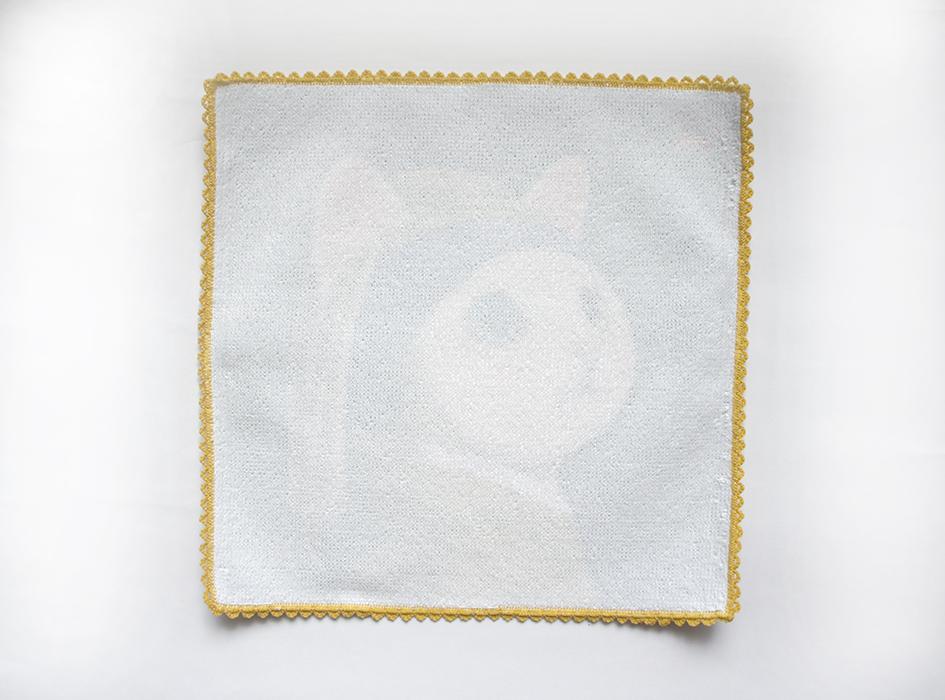 裏面には、<br>使い心地にこだわり、<br>綿100%を使用。<br>肌触りのよいタオル生地は、<br>使っていても気持ちがよいです。
