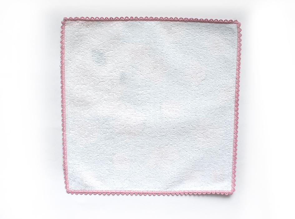 使い心地にこだわり、<br>綿100%を使用。<br>肌触りのよいタオル生地は、<br>使っていても気持ちがよいです。