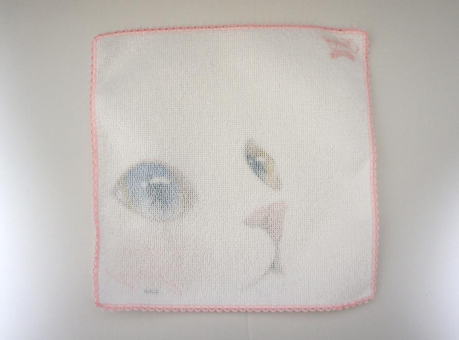 使い心地にこだわり、<br>裏面には綿100%を使用!<br>タオルで有名な今治製で<br>肌触り抜群!