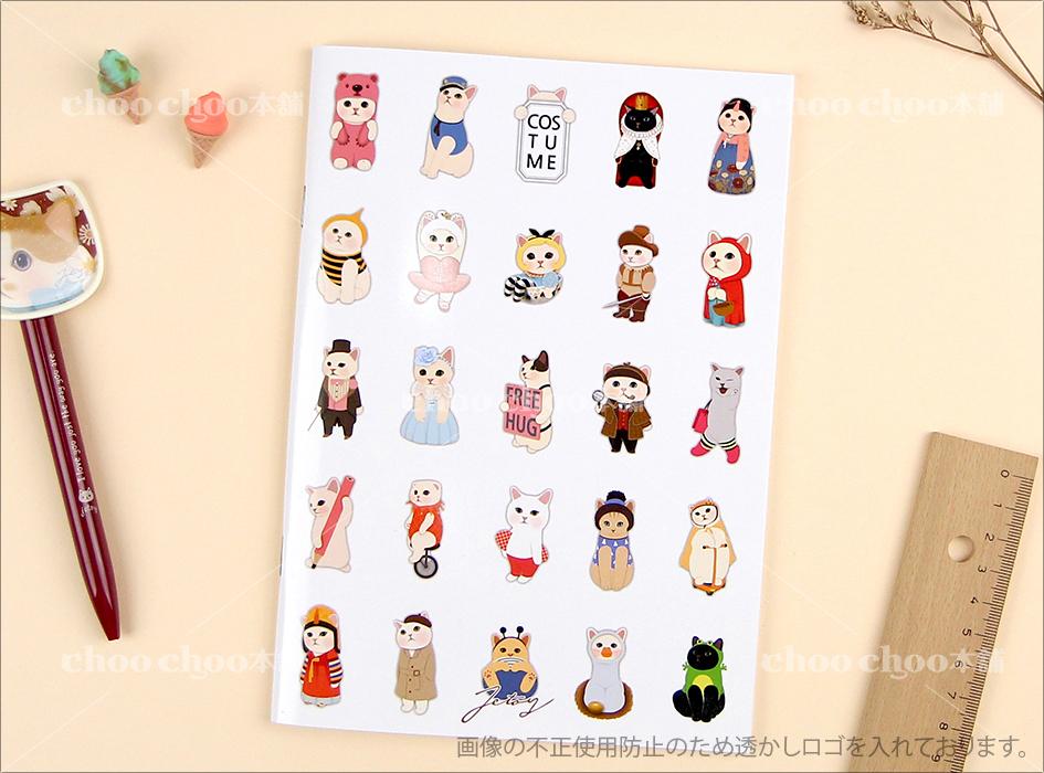 表紙には<br>アリスや、赤ずきん猫、ピンクベアなど、<br>人気のchoo choo(チューチュー)を中心に<br>たくさんのネコたちが描かれています♪