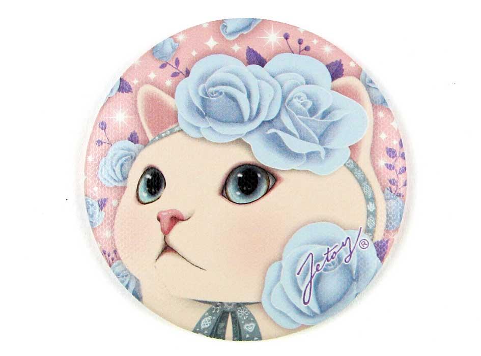 ブルーローズ猫の繊細な魅力満載のイラスト♪<br>プレゼントにもおすすめです☆