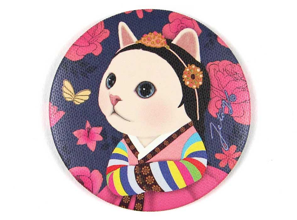 猫のミニミラー ウォリ