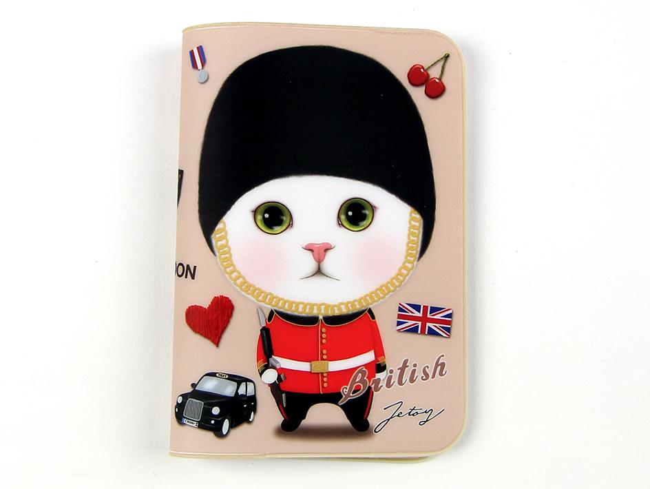 猫のパスポートケース5 ロンドン