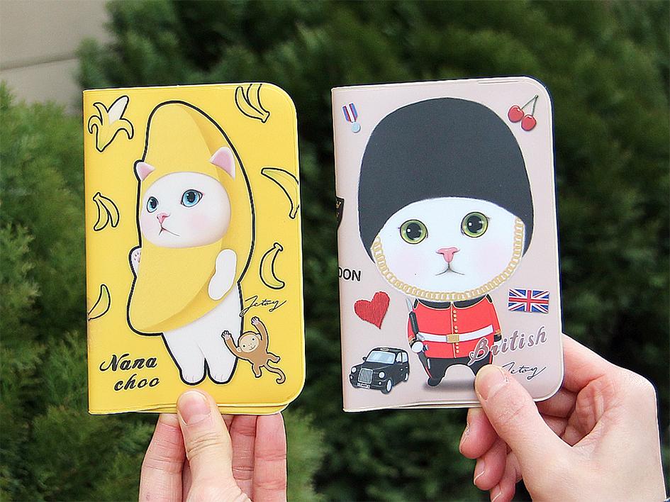 大人気柄♪「バナナ」と「ロンドン」の<br>パスポートケース!